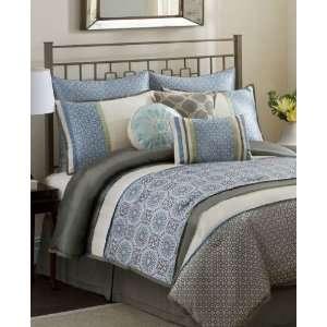 Eva Mendes Kelsey 9 Piece Queen Comforter Set