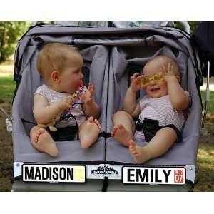 Personalized Baby Stroller License Plate New Baby Gift: Baby