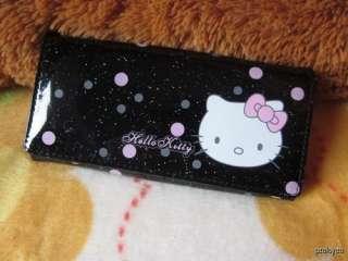 New HelloKitty Lady Girl Xmas Gift Bihold Long Purse Wallet Black