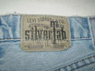 Levis Silver Tab button fly jeans relaxed USA 31 x 30