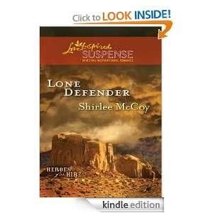 Lone Defender (Love Inspired Suspense): Shirlee McCoy: