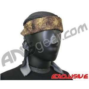 Full Clip Headband w/ Netting   Snake Skin Beauty