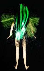 Absinthe Fairy ~ Absynthe OOAK Barbie doll The Green fairy gothic