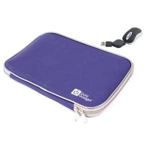 DURAGADGET Blue 13.3 Neoprene Laptop Zip Case With USB Mini