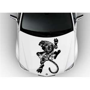 Vinyl Decal Stickers Animals Panther Tribal Pattern Super Cool S7061