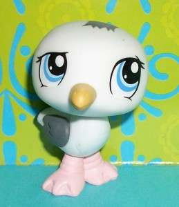 Littlest Pet Shop~#1456 SPECIAL EDITION WHITE SEAGULL Sea Bird~O48 LPS