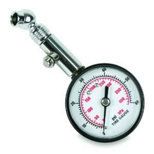 inch Dial Tire Gauge with Angle Chuck and Bleeder: Home Improvement