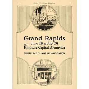 1920 Ad Grand Rapids Market Association Furniture City