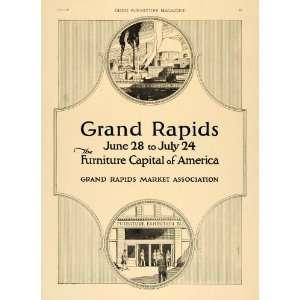 1920 Ad Grand Rapids Market Association Furniture City