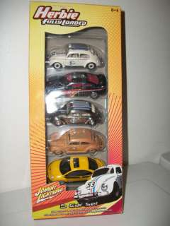 Johnny Lightning HERBIE Fully Loaded 5 pack Set B