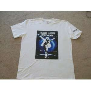 Michael Jackson Moon Walker T shirt XXL