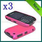 New Pink Polka Dot Hard Case Cover For Blackberry Curve 8520 8530 9300