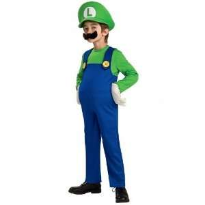 Rubies Deluxe Luigi Child Costume Style# 883656 Large Toys & Games