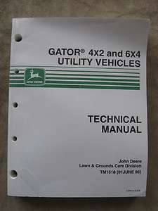 john deere gator 6x4 technical manual