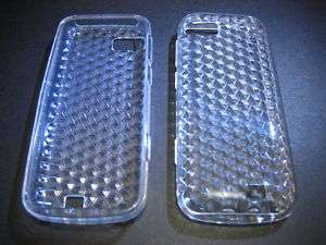 Clear SOFT PLASTIC POUCH Case COVER Nokia C3 01