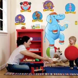 Three Ring Circus Giant Wall Decals: Everything Else