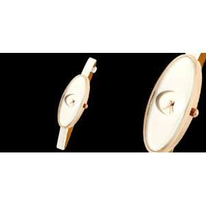 Como Fashion Jewelry White Ladies Girls Oval Face Ultra Slim Women