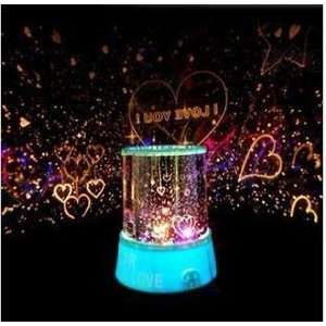 Sweet Love Star Sky Romantic Night Projector Light: Office Products