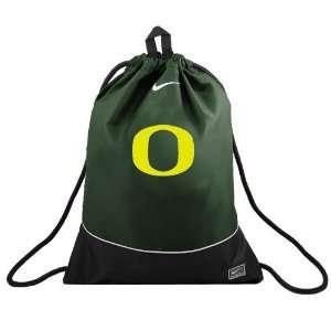 Nike Oregon Ducks Green Nylon Sling Drawstring Backpack: