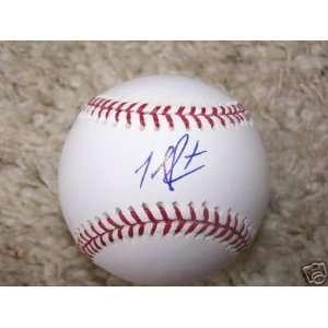 John Rodriguez St. Louis Cardinals Signed Ml Baseball