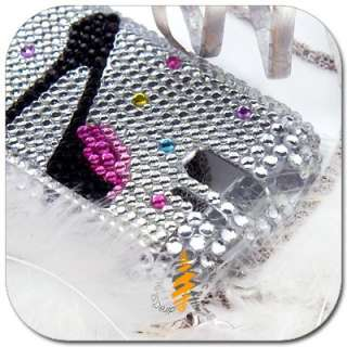 BLING CRYSTAL HARD CASE HTC T MOBILE MYTOUCH 3G SLIDE