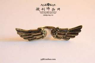 my shop brand new cool ancient bronze angel wing punk style abroach