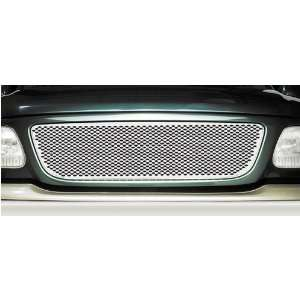 Putco Racer Grille Insert w/o Logo Cut Out   Stainless, for the 2002