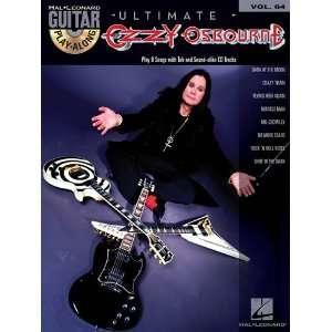 Ozzy Osbourne   Guitar Play Along Volume 64   BK+CD