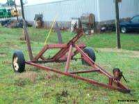Pull Type Round Hay Bale Mover/Wagon/Carrier/Hauler/Trailer |
