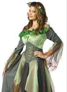 Mother Nature Earth Fairy Dress Adult Halloween Costume 071765011914