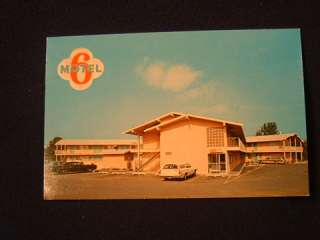VINTAGE MOTEL 6   Postcards