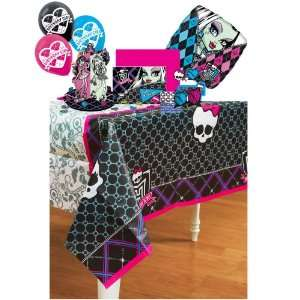 Monster High Decoration Pack Including Tablecover, Candles