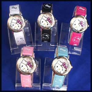 pcs hello kitty girl watches hw01 free