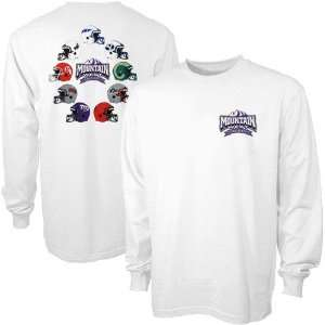 White Mountain West Conference Helmet Long Sleeve T shirt
