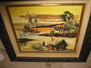 PAUL BLAINE HENRIE SIGNED ORIGINAL OIL PAINTING CA ART