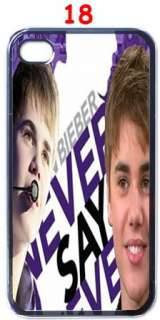Justin Bieber Fans Custom Design iPhone 4 Case