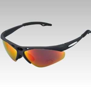 Veanzo Bicycle Bike Cycling Sunglasses Black Sports