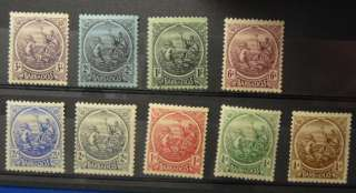 Barbados: 127 31, 135 38 Mostly MMH, VF (A226)