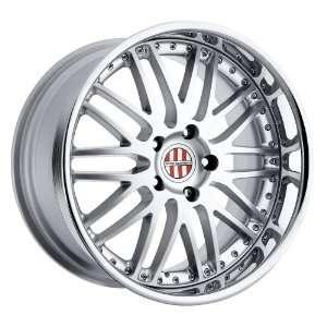 22x10 Victor Mulsanne (Hyper Silver) Wheels/Rims 5x130