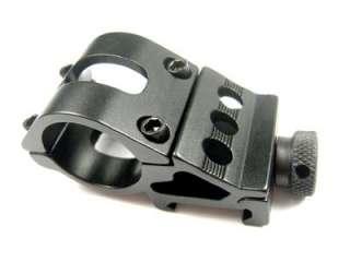 inch 25mm Flashlight Torch Laser rifle scope Mount Weaver 20mm