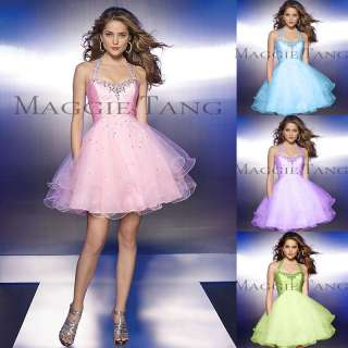 Graduation Sweat 16 Birthday Bridesmaid Cocktail Prom Party Dress