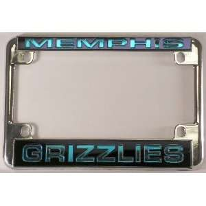 NBA Chrome Motorcycle RV License Plate Frame
