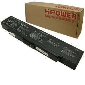 Hipower 6 Cell Laptop Battery For Sony Vaio PCG 5G1L, PCG