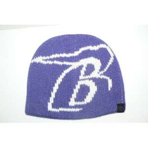 NFL Baltimore Ravens Team Fan Knit Beanie Hat Ski Skull