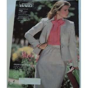 Montgomery Ward 1982 Vintage Catalog Spring & Summer