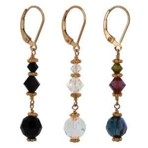 Gold Vermeil Dangle Earrings