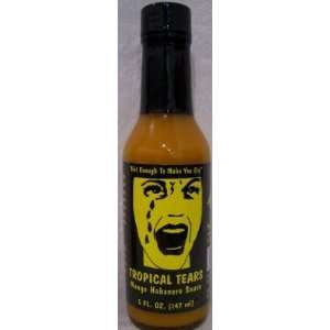 Tropical Tears Mango Ginger Habanero Hot Sauce  5 Oz