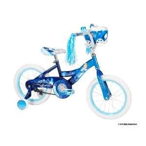 Huffy Disney Cinderella Bike (Starlight/Magical Blue, Medium/16 Inch