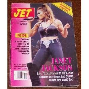 Jet Magazine Jan 3, 1994 Janet Jackson: Various: Books