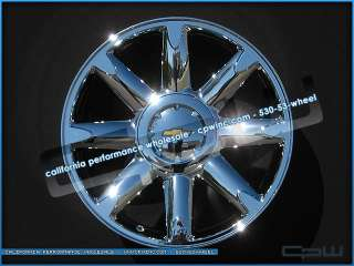 NEW 20 INCH CHROME WHEEL AND TIRE PACKAGE FOR SUBURBAN TAHOE